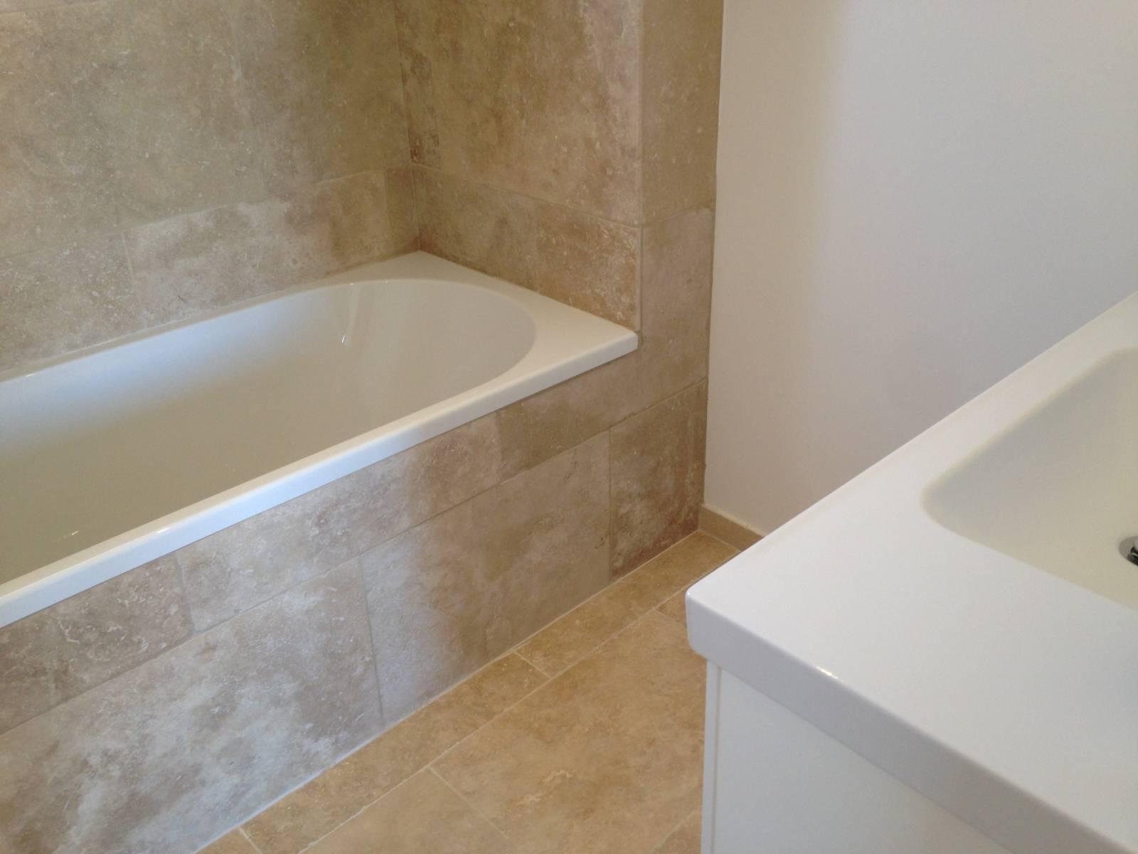 Salle De Bain Ceramique ~ salle de bain en travertin vieilli 1er choix mix beige six fours